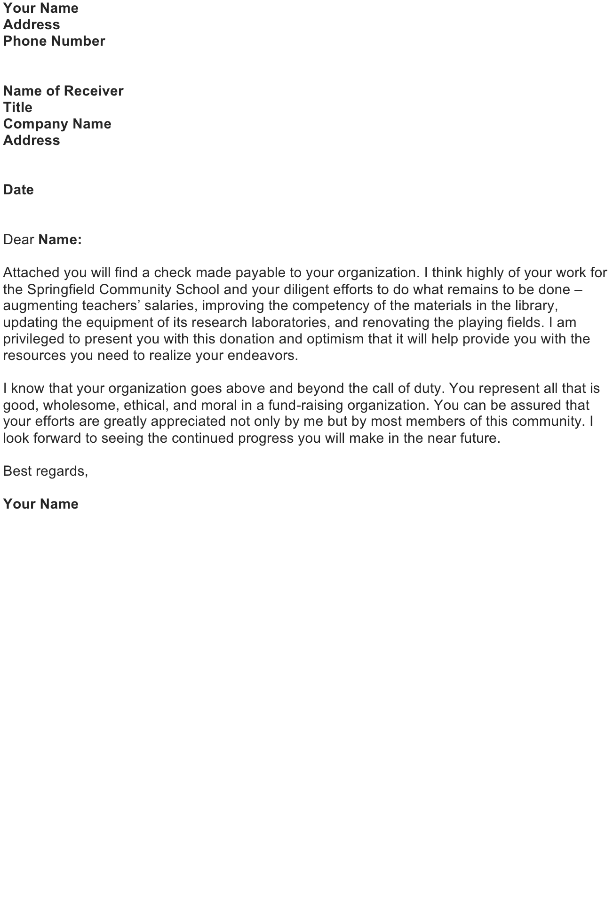 Good Faith Letter Sample Download FREE Business Letter Templates – Good Faith Letter